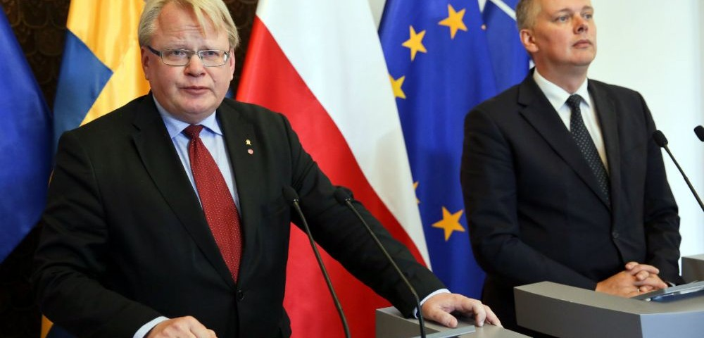 Sweden and Poland - common business, common security
