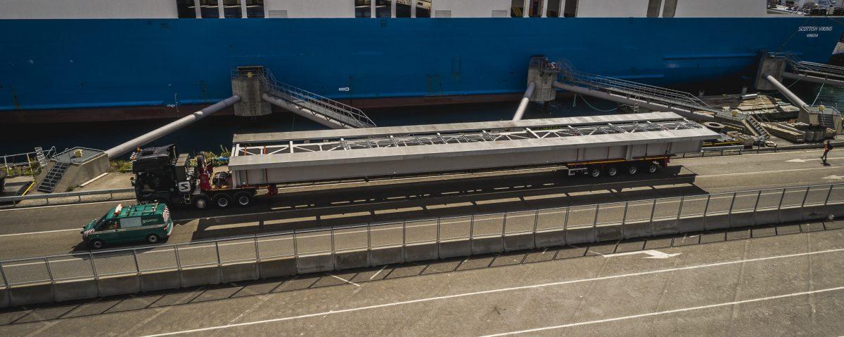 scandinavian rail bridge transport to stockholm